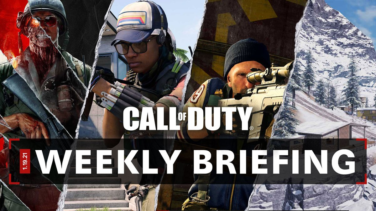 ✅ Zombies Free Access continues ✅ Zeyna enters the fray ✅ Playlist updates  Check out what's new this week across Black Ops Cold War, Warzone™, COD Mobile, and more.