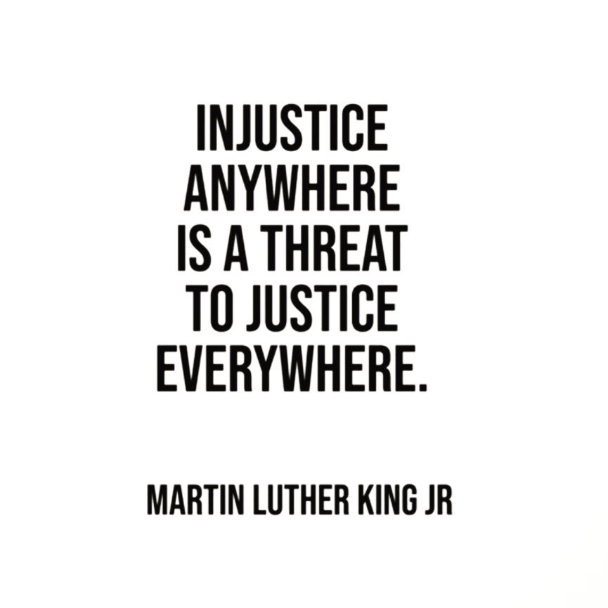 How do we honor his legacy? Let us teach our children to be bold. To stand up for what is right. Challenge them to support their beliefs through actions. Engage them in service work. This is how we honor a man who changed our world. This is how we continue to be the change. 🖤