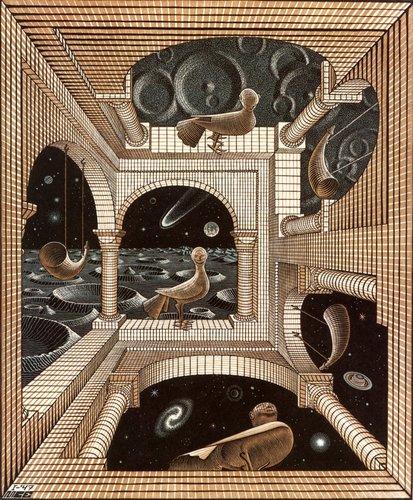M.C. Escher @artistescher #followart #mcescher