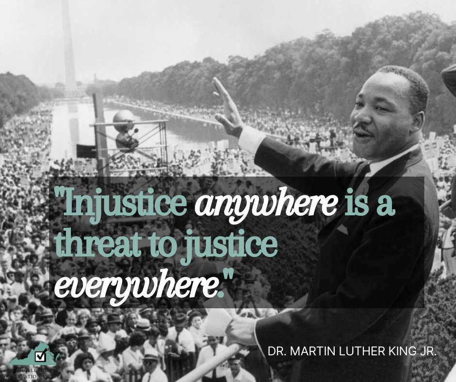Dr. King always understood the interconnectedness of racial and environmental justice— one simply cannot exist in the absence of the other.   We honor him by amplifying his calls for change— let's fight for BOLD climate action and racial justice! #MLKDay #Equality #ClimateAction