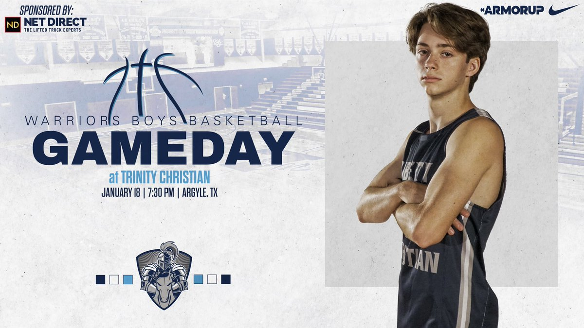 🚨GAMEDAY🚨 🏀@LCS_MBasketball  🆚 @TCATrojans  ⌚️ 7:30PM 📍 @TCATrojans    #ARMORUP | #FORHIM