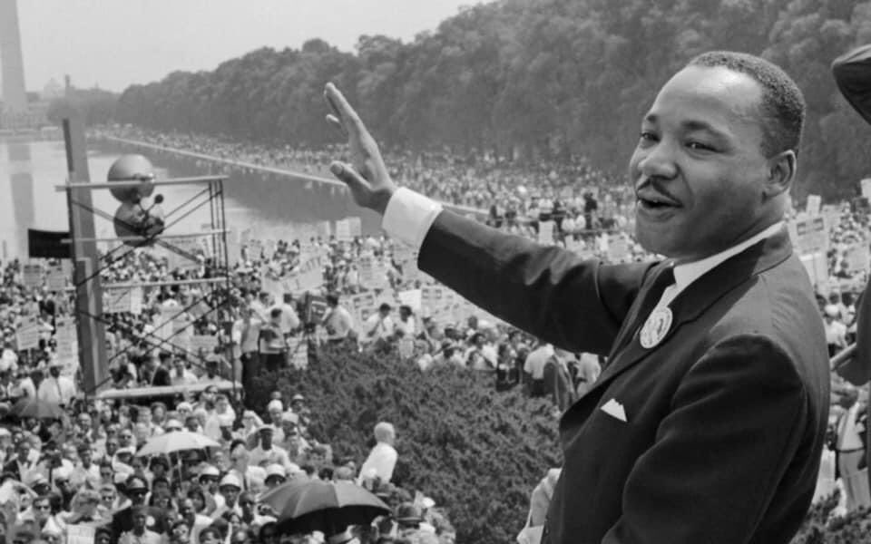"""""""True peace is not merely the absence of tension; it is the presence of justice."""" - MLK   We have a long road ahead but we all must keep walking towards justice. Today we celebrate vision, bravery, and perseverance. Together we stand as people. Happy MLK Day!   #mlkjr #mlkday"""