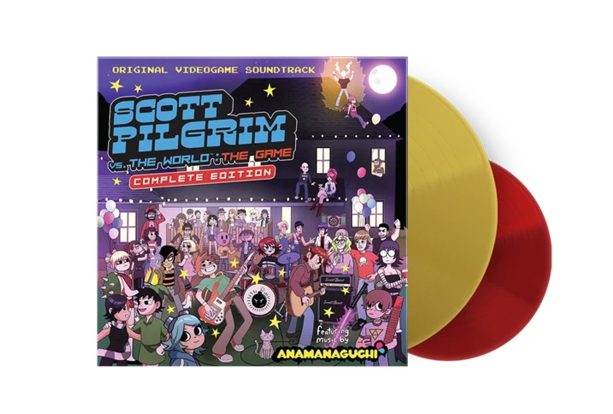 Scott Pilgrim Vs. The World video game soundtrack released in new vinyl edition https://t.co/SDEEttVpax https://t.co/4KewvOHY07