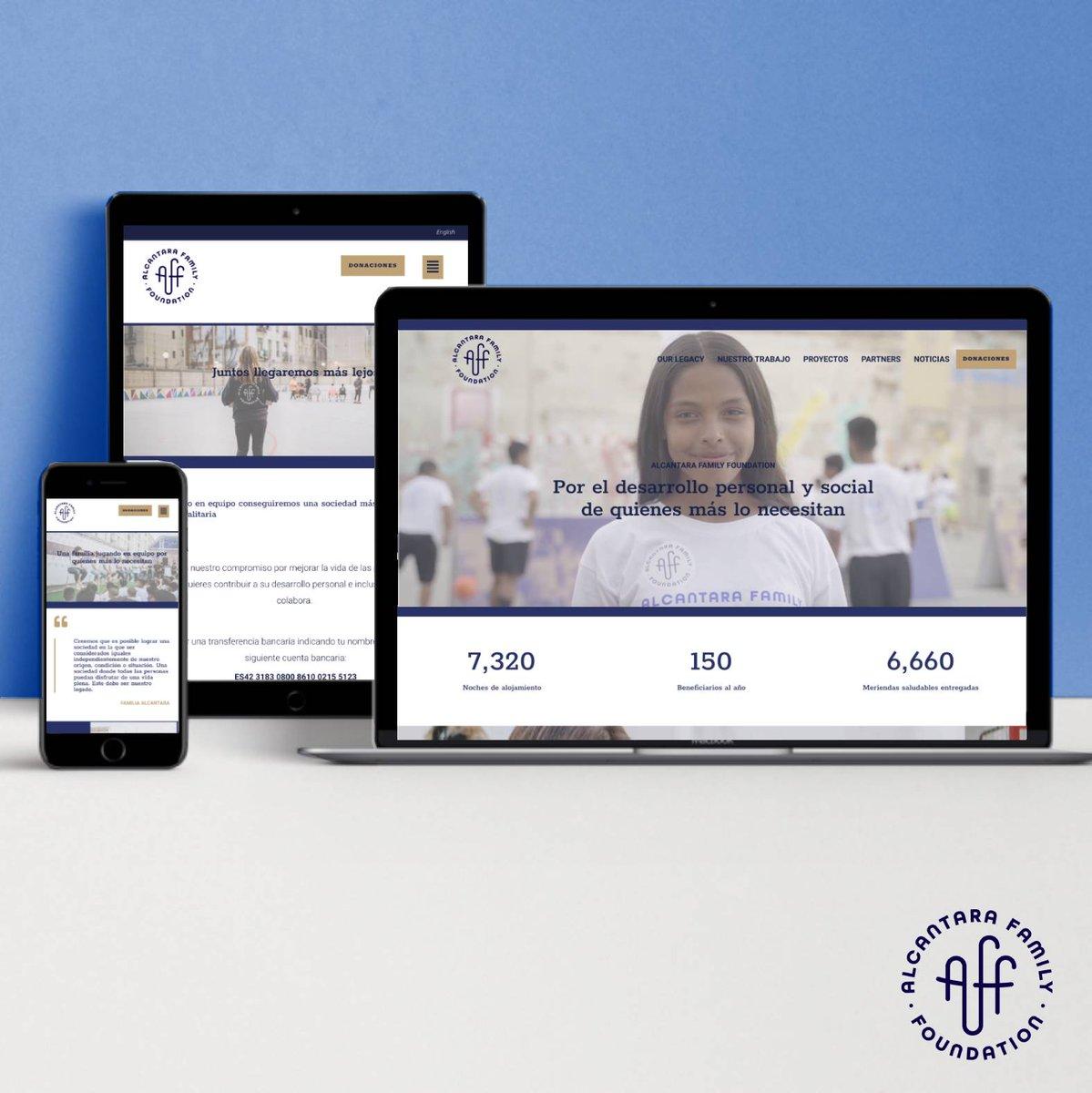 Hoy no puede ser #BlueMonday, ¡porque hoy lanzamos nuestra nueva #web! 👉  👈 Con esta nueva versión, esperamos poder mostraros la actualidad y a la esencia de nuestros proyectos, porque día a día, seguimos creciendo ⬆️ #WeAreATeam