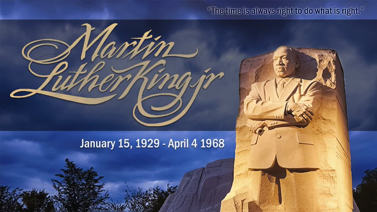 Today we honor Dr. Martin Luther King Jr.'s message of hope, justice and equality.