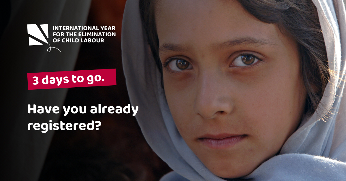 Register and join us for this upcoming event! With 4.3 million children in forced labour, the @UN Year for the Elimination of Child Labour is critical to inspiring action and ending forced labour. #EndChildLabour2021 #modernslavery