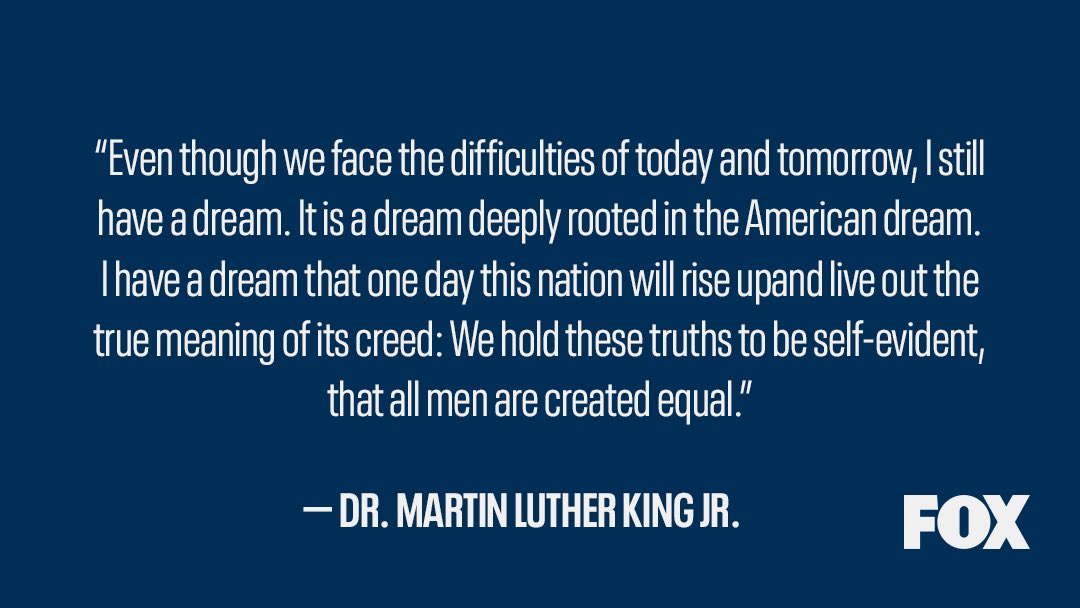 Today we honor Dr. Martin Luther King Jr. and his great work, and we remember there is still more to do.