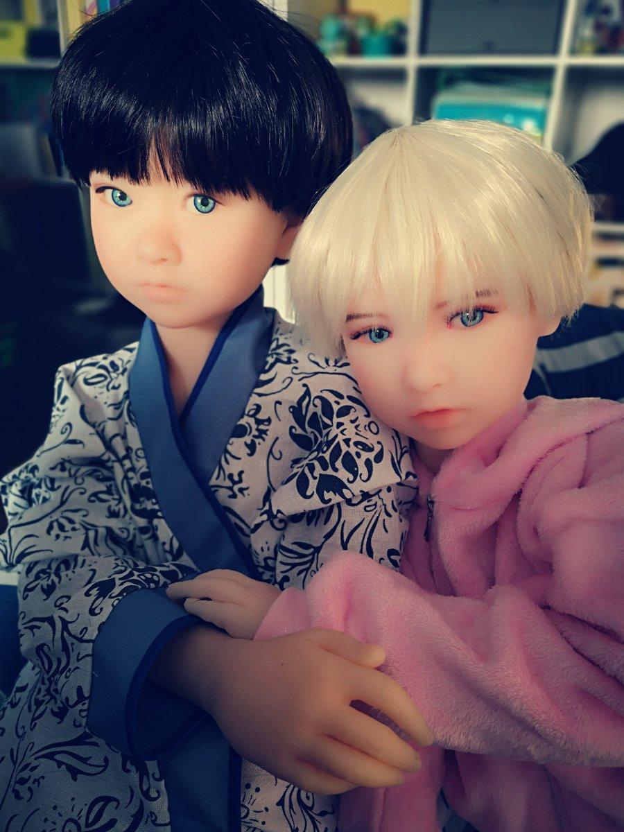 My babies💕#catdoll #coco #momo #dolls #doll #tpedoll
