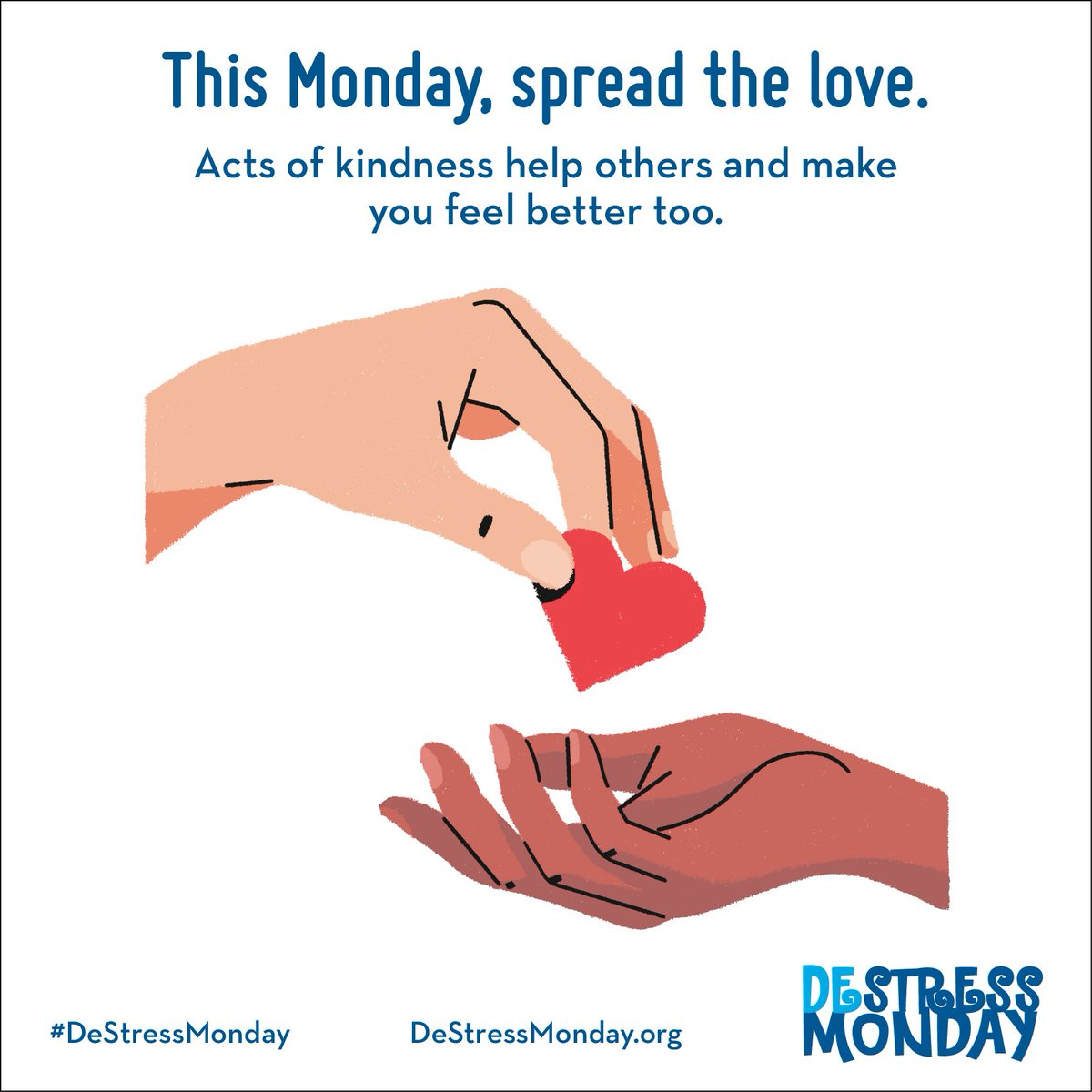 #MondayMotivation Radiate kindness today. When you practice kindness towards others it helps them, and surprisingly, it will help you too. #NSPL