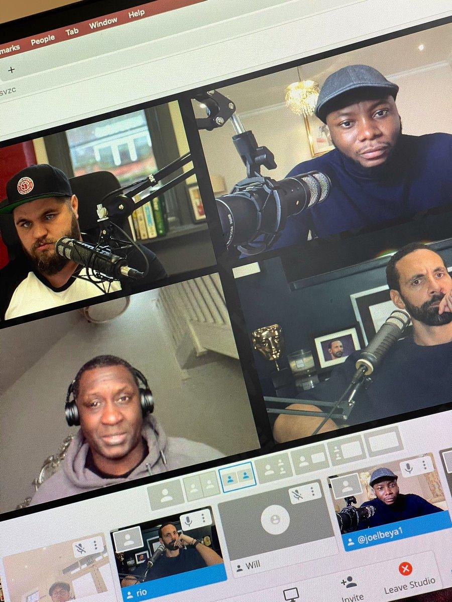 Big @EmileHeskeyUK joining us on the podcast today @rioferdy5 @joelbeya2   5pm on FIVE