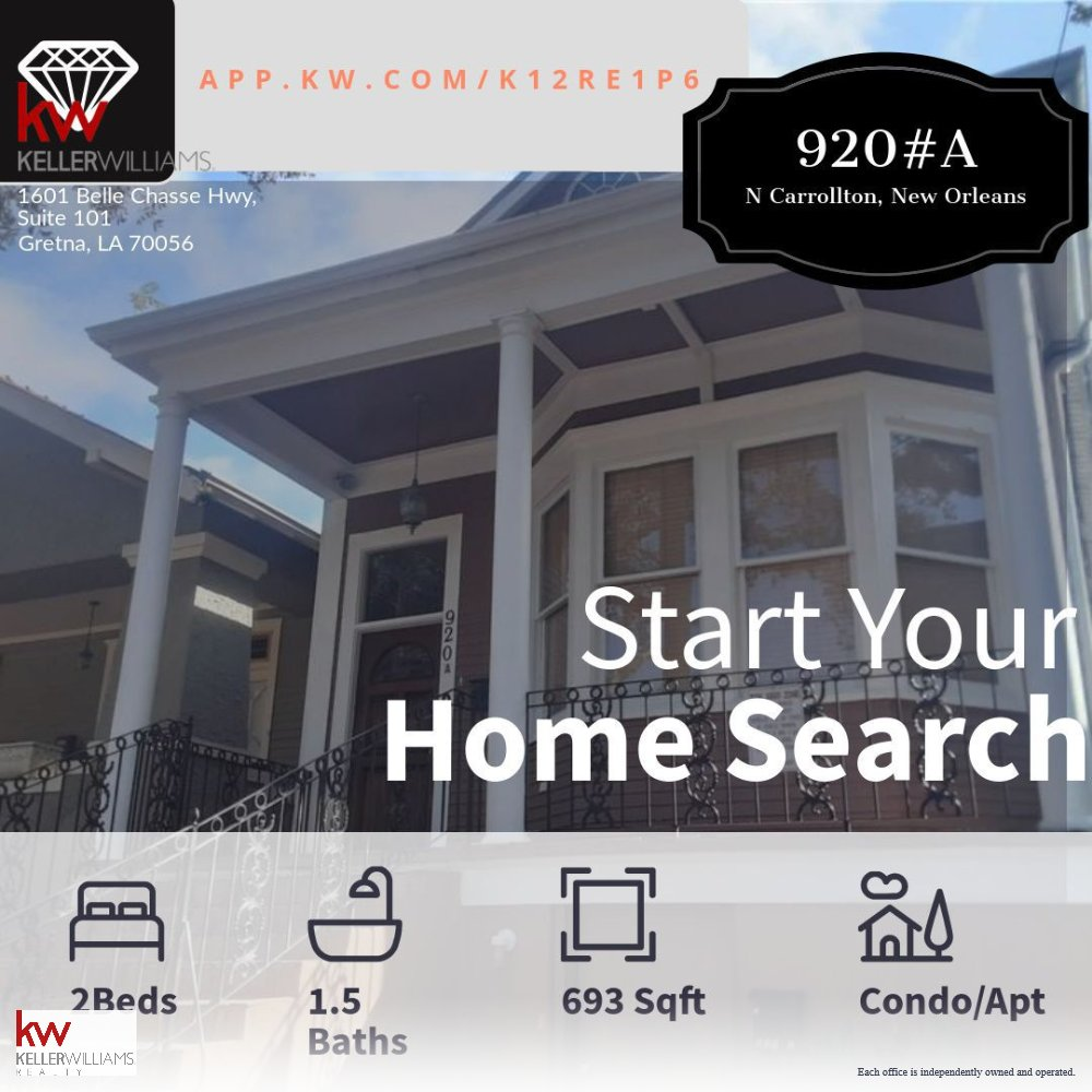 Search for home from your home! .  . #home #search #leasing #lease #realestate #realtor #realtoronabikeNOLA #nola #housing #apartments #condo #condominium #rental #renting #app #searchapp #openhouse