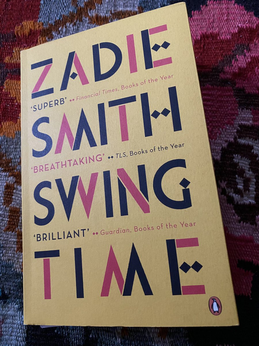 New week. New book.   #AmReading: Swing Time by Zadie Smith.   What are you reading? #ChooseBookshops #TwitterBooks