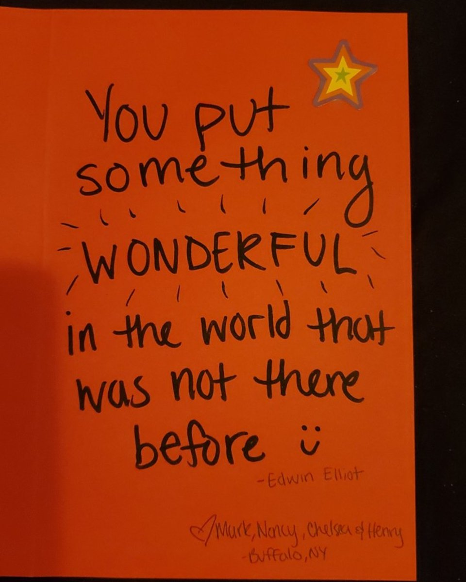 We know the #cards are for the patients/children and families, but we still think some of them could be our #MondayMotivation! Please take a second to read this card! #encouragement