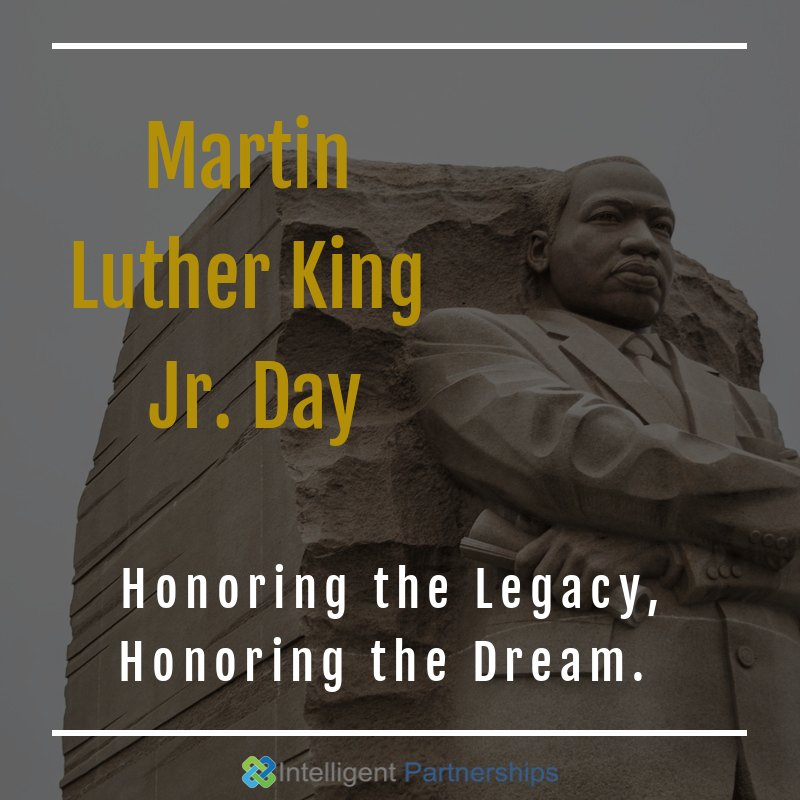 Happy MLK Day! May we continue the dream and resilience to fight for peace and equality as Martin Luther King Jr. did. #IHaveADream #MLKDay2021