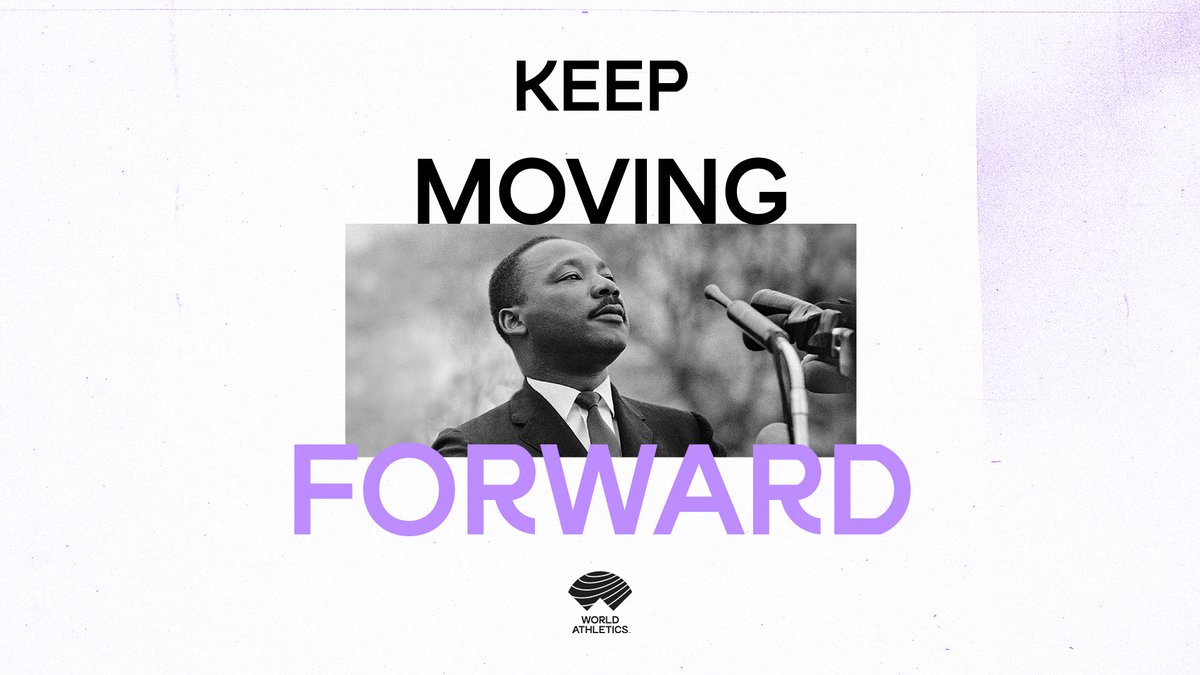 """If you can't fly then run, if you can't run then walk, if you can't walk then crawl, but whatever you do you have to keep moving forward."" #MLKDay"