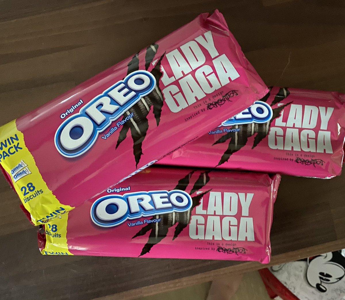 finally found them 😍😍😍 @ladygaga @OreoUki  (found them in Morrisons £1 for the twin pack) #LadyGaga #Chromatica