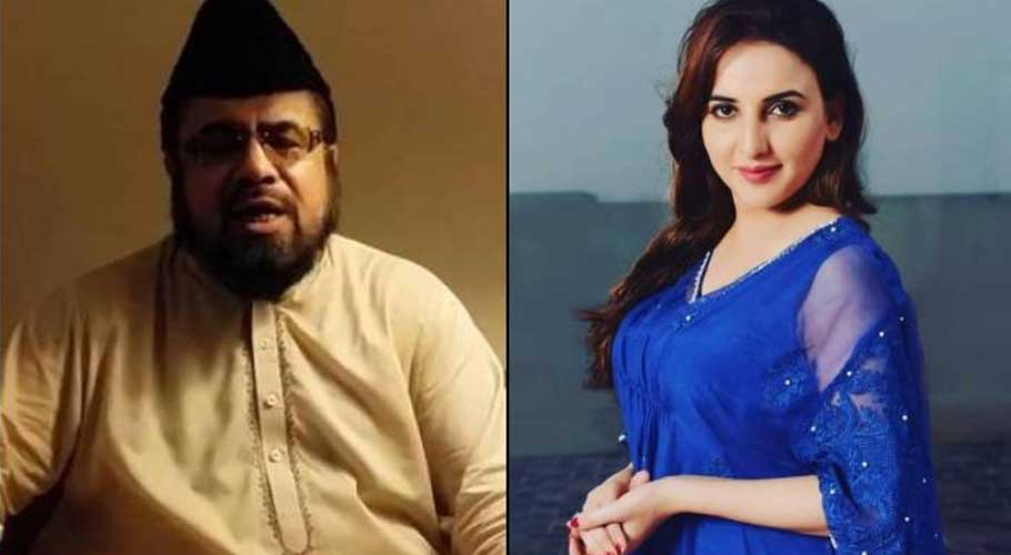 TikToker star slaps Mufti Qavi, video goes viral  #TickTock #slap