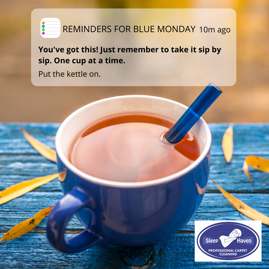 The third #Monday of #January has been given the gloomy title #BlueMonday due to a combination of post-christmas blues, cold dark nights and the arrival of unpaid bills! Best have another #cuppa to help get through it! ☕☕ #teamakeseverythingbetter #reminder #youvegoththis