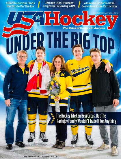🚨 New Issue Alert 🚨  The Jan/Feb Issue of @USAHMagazine is out now 🇺🇸🏒  🎪 Under The Big Top 🎪  ➕   #TeamUSA's March To Gold at the #WorldJuniors 🇺🇸🥇  →