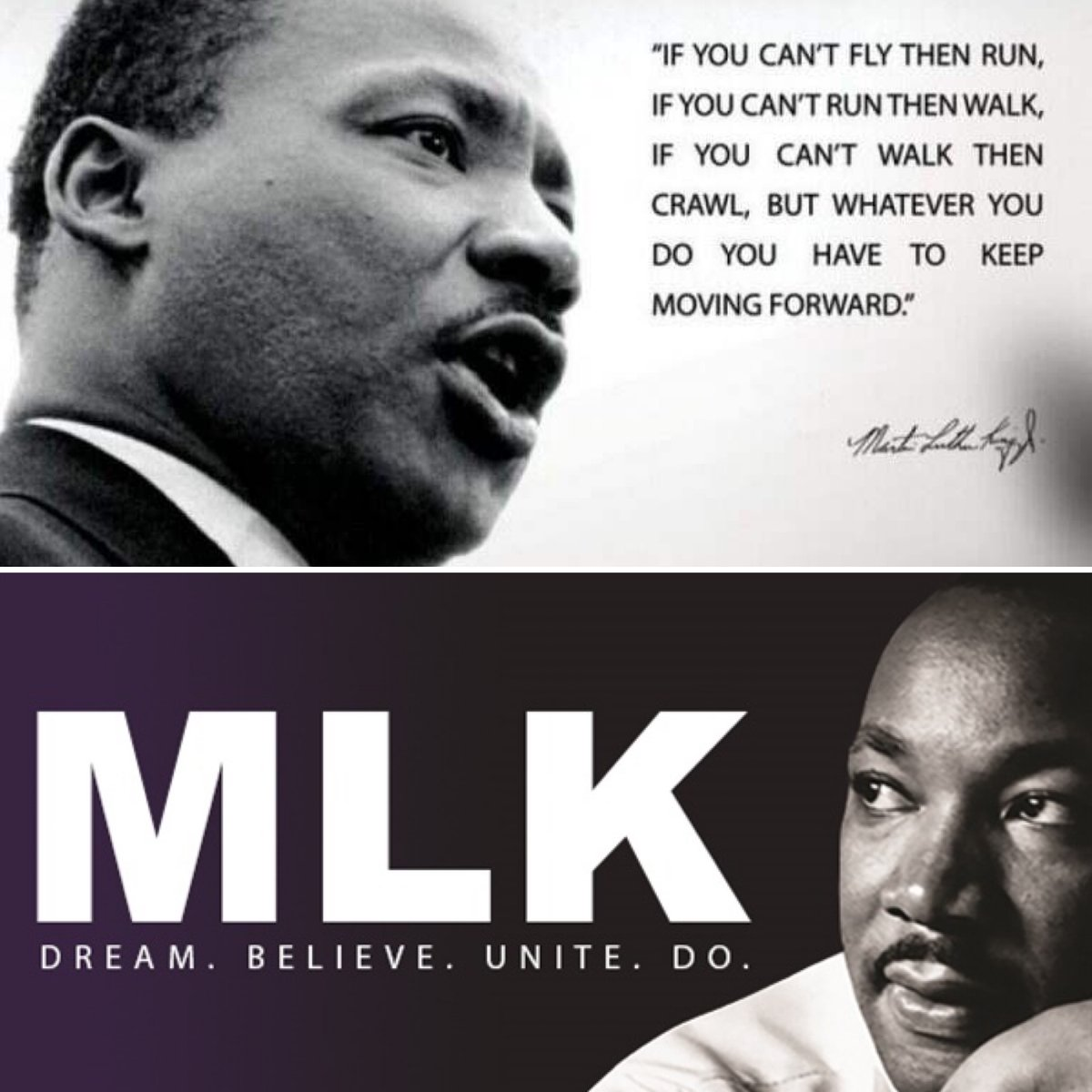 As we celebrate the birthday of Dr. Martin Luther King Jr. today, we hope all take some time to reflect. Whether that's enjoying the holiday, or taking a quiet moment at work. While we've come so far, 2020 showed us the tremendous amount of work we still have to do. #MLKDay #MLK