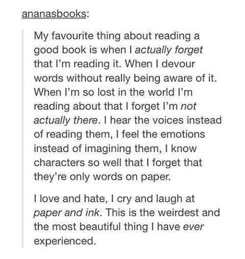 My earliest memory of anything is kindergarten-age me, sitting in the school library (a couple of rolling shelves in a hallway) with a book in my lap. The #beautyinmytwitterfeed this morning is made of words, and sums up my whole reading life. 📚📘♥️