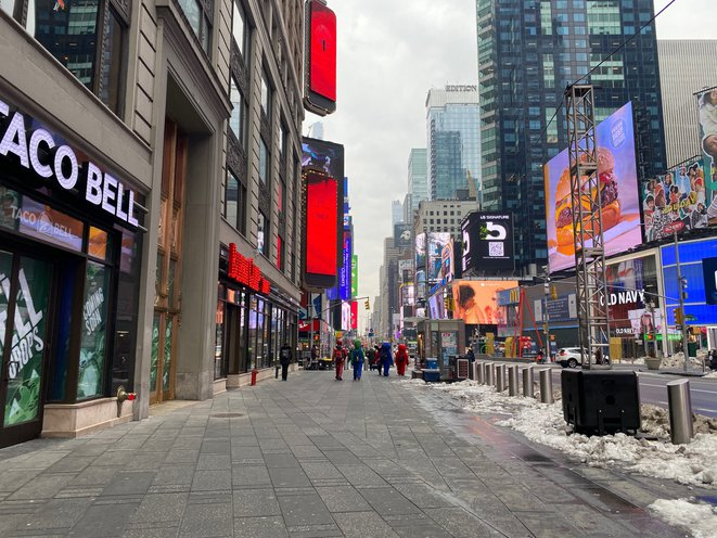 With Times Square Foot Traffic Still Down 70%, NYC Has A Long Recovery Period Ahead
