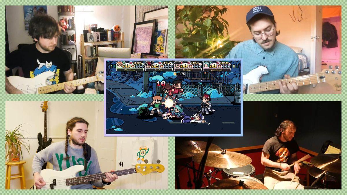Replying to @Kotaku: Anamanaguchi's Scott Pilgrim Soundtrack Is Still Pop-Rock Pixel Perfection