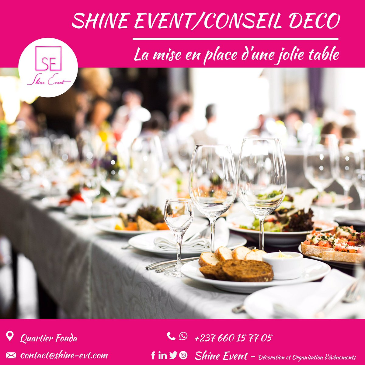 Vous désirez une décoration pareille pour vos tables ⁉️  Info.shinevent@gmail.com +237 662 32 64 54  #happiness #happynewyear  #lovelife #loveyourself #wedding #mariage #décoration #decoration #beauty #beautiful #funny #lol #lmao #lmfao #blingbling  #laugh #laughing #tweegram