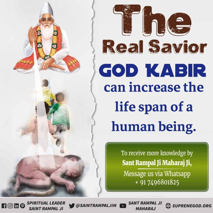#GodMorningMonday  According to the all Holy scriptures God/Rab/Allah/Bhagawan is one His name is Lord Kabir  He is the creator of the whole Universes. @SaintRampalJiM  Visit Satlok Ashram Youtube Channel #mondaythoughts
