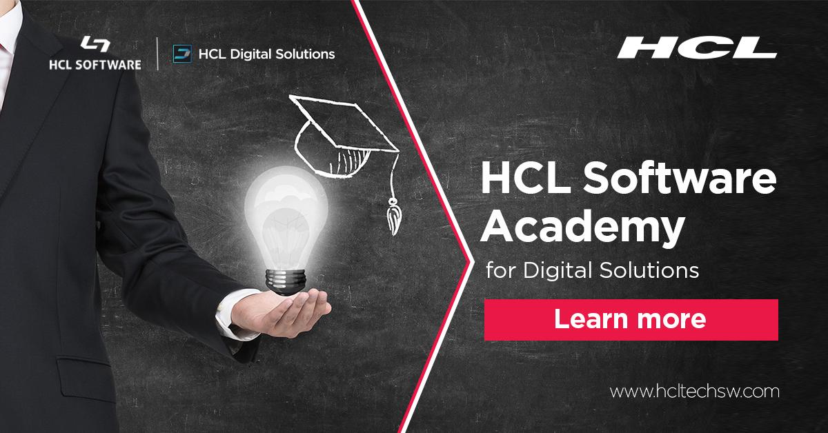 HCL Software Academy for HCL Digital Solutions - Become an expert! #HCLDigitalSolutions #Dominoforever #DevCommunity #100DaysOfCode #datascience #codenewbie #javascript #github #coding #30DaysOfCode #womenintech #serverless #nocode  https://t.co/d4h1NetIJn