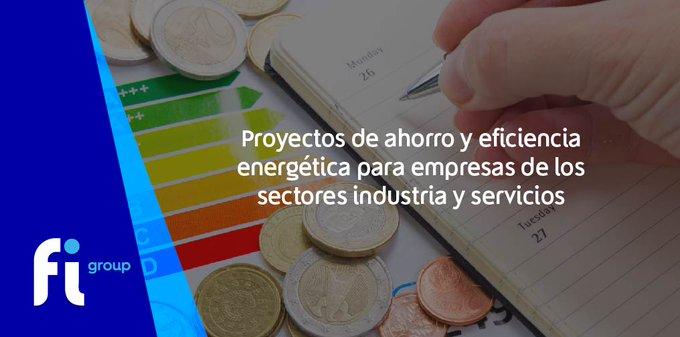 ¡Galicia!Se ha publicado la ayuda para «Proyectos de ahorro y  en  de los sectores de  y servi....