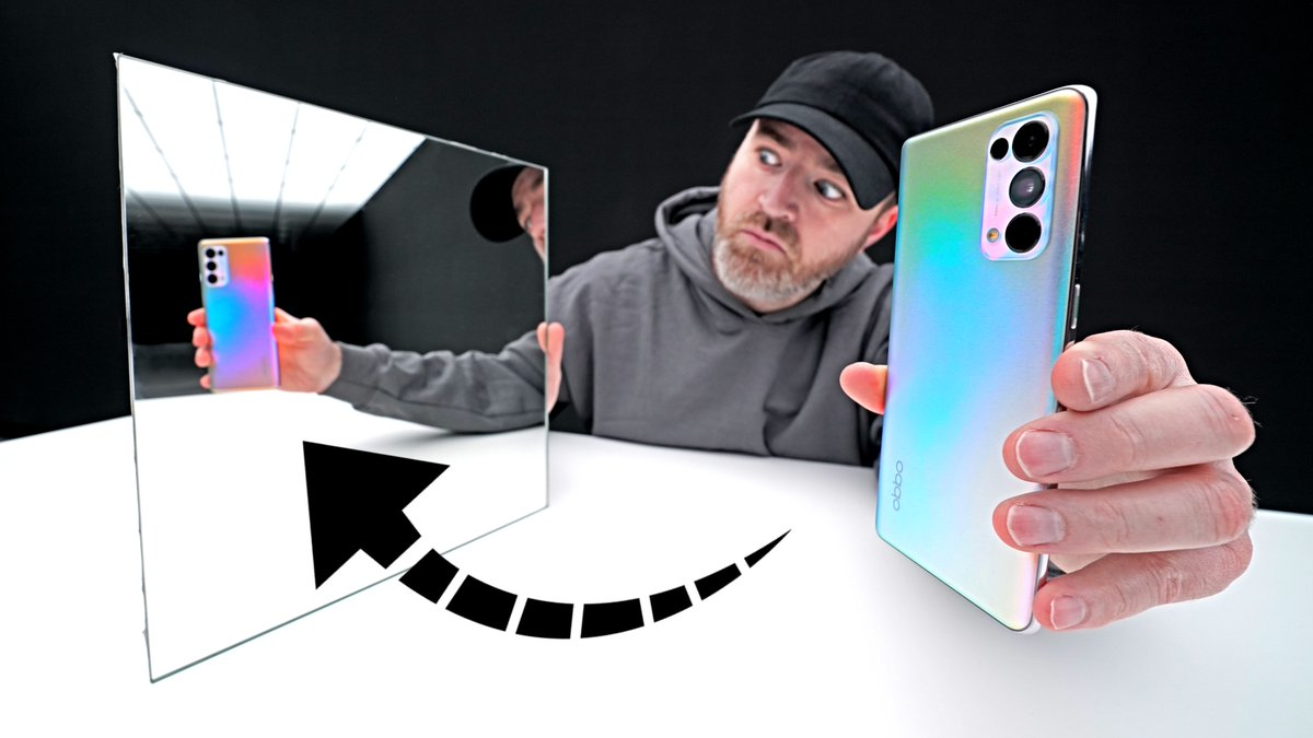 Replying to @UnboxTherapy: The CRAZY Color-Changing Smartphone -  #OPPOReno5Pro