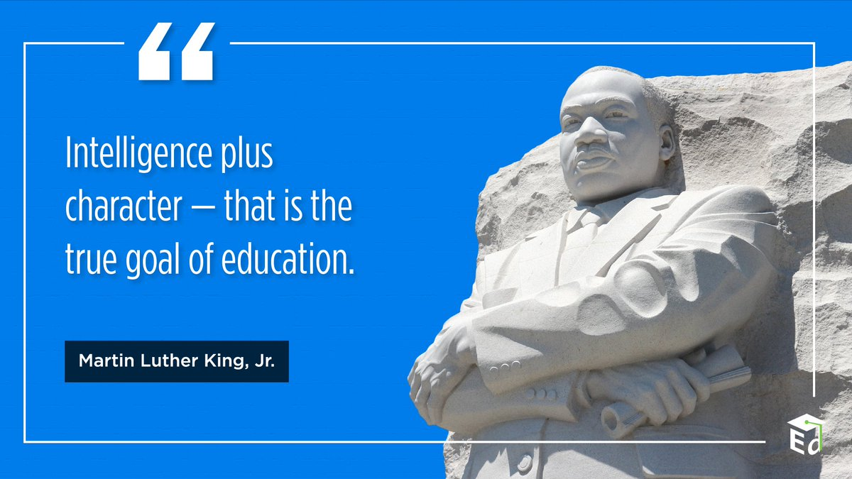 Today we celebrate the life and legacy of Martin Luther King, Jr., a man whose commitment to equality for all people changed the world. #MLKDay