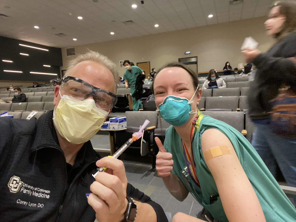 test Twitter Media - CAFP board member Cory Lyon, DO is administering COVID vaccines! The COVID vaccine is how we will protect our communities and end the pandemic emergency https://t.co/BAn44s3tAA