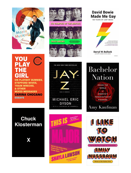 "Expand your reading horizons by participating in our annual reading challenge. 10 to Try challenges you to read books in 10 different categories. Looking for books that fit the ""Read a book about pop culture"" category? Try one of these."