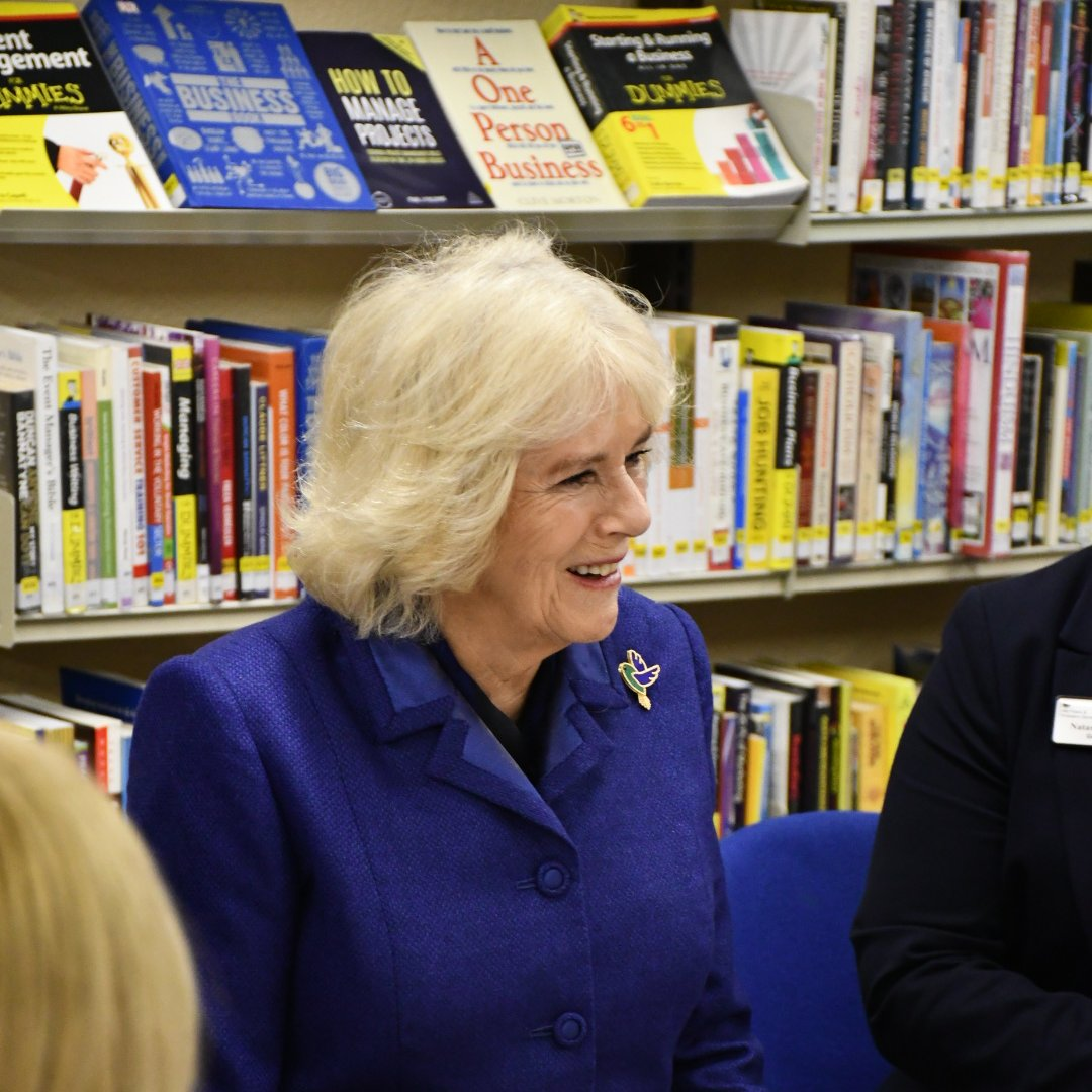"""My father was a passionate bibliophile who would read to his children every night.""  The Duchess of Cornwall has written about her childhood and love of reading in an article originally published in The Sunday Times.   📖 Read it here:"