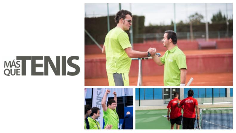 Compañerismo, esfuerzo, superación, ilusión... ¡Más que Tenis! 🎾 10 años creciendo juntos #MasqueTenis junto con @SpecialOlympESP  ... Fellowship, effort, overcoming, eagerness... More than Tennis! 🎾 10 years growing together #Tennis