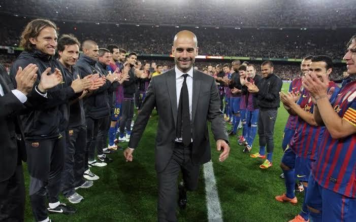"""Pep Guardiola cumple 50 años y sigo esperando que algún día vuelva al Barça, no como entrenador, pero sí de alguna forma.  """"No me perderéis nunca"""" https://t.co/GkbEFDz28m"""