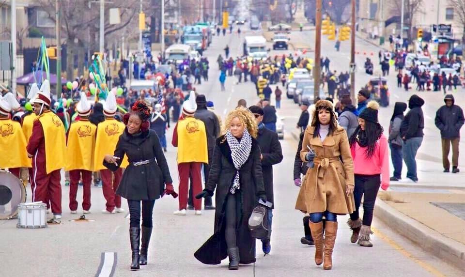 """We're good on any MLK Boulevard."" ~ circa. 2017 #MyBmore #ProudlyBaltimore #MLKDay2021  #BmoreWomenDoItBetter #BehindTheScenes #AudaCITY🔥 #TheGreatRaceInHeels👠  • • • 📸 @baltphotog"