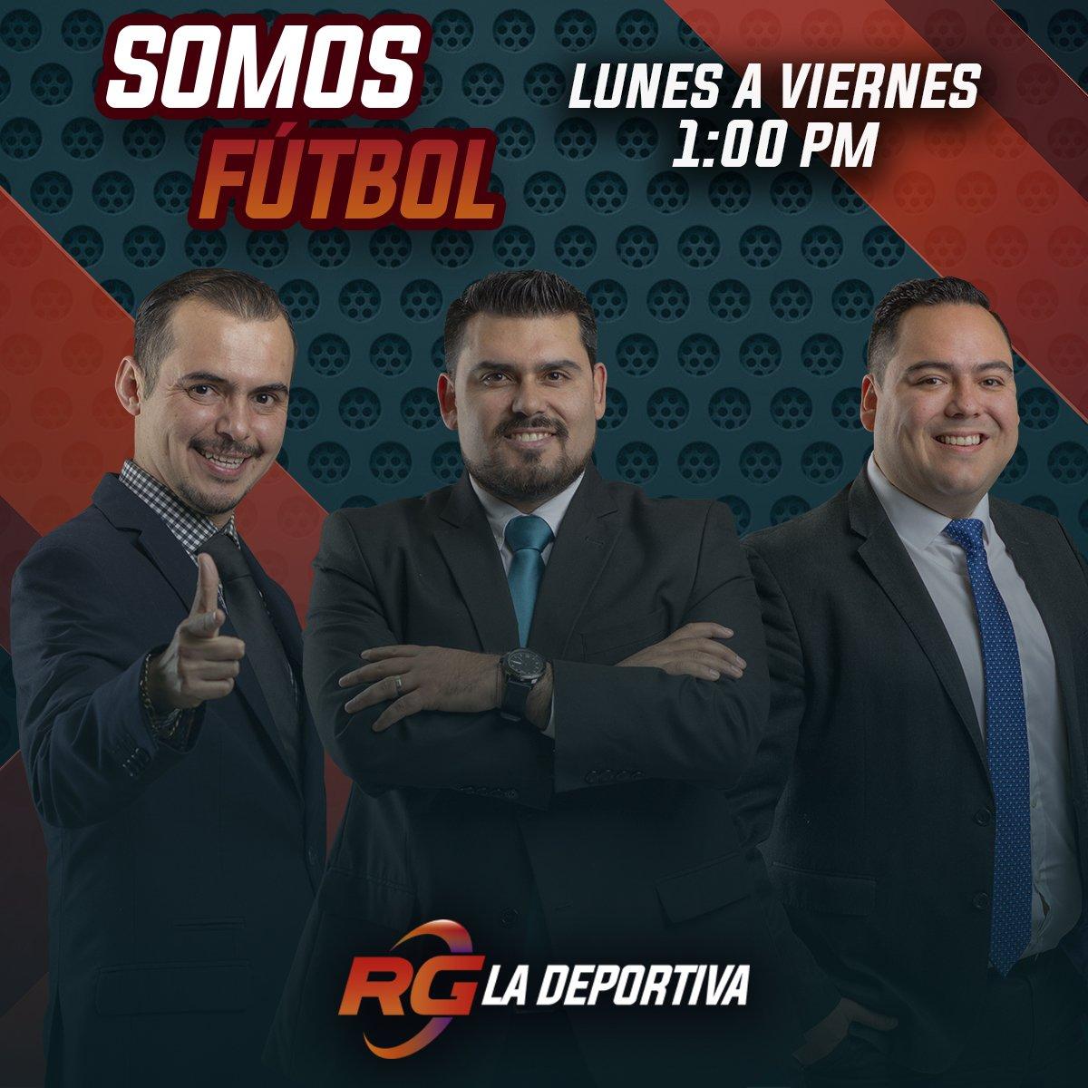 🚨Estamos EN VIVO en #SomosFutbol a través de RG La Deportiva.  ▶️Escúchanos en línea