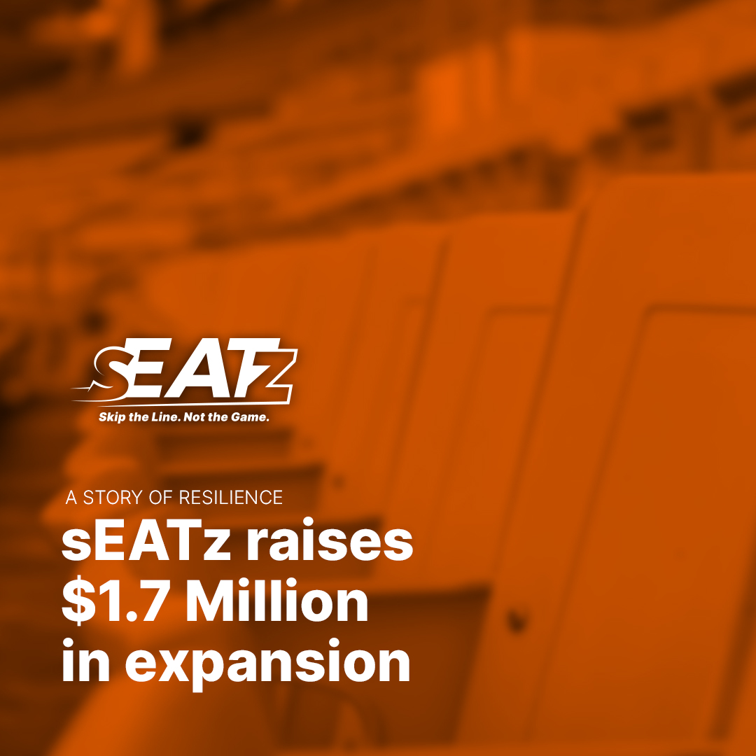 sEATz recently raised $1.7 Million as we expand across the nation. Check out the story on our website:  #sports #nfl #nba #NationalChampionship #mls #nhl #MLB