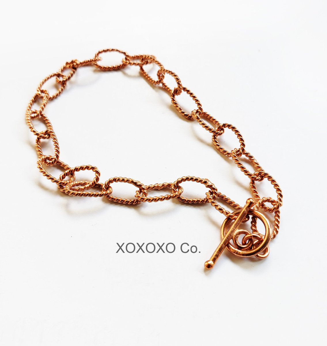 Solid Copper Bracelet Rope Link Chain Copper Toggle Clasp https://t.co/MTK8flSW7d #style #fashion #handmadejewelry #handmade #Etsy #shopsmall #jewelryblogger #giftsforher #christmasgifts https://t.co/JxZQ9gOgCv