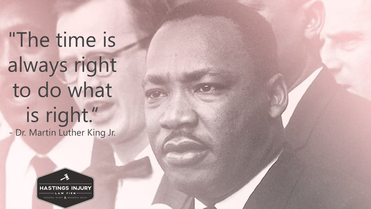 #MondayMotivation - As we pause today to honor Dr. Martin Luther King, his words continue to be a guiding light for all of us.