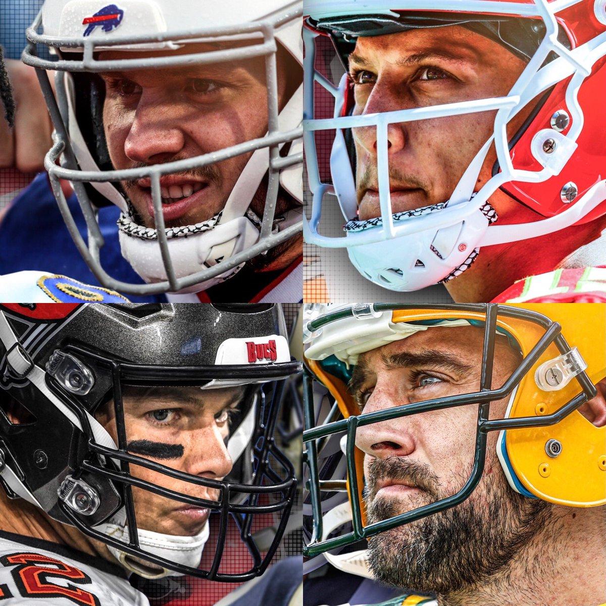 Pasado, presente y futuro de la NFL. ¿Quién es su favorito para levantar el Vince Lombardi? #NFL #NFLPlayoffs   #ChiefsKingdom  #BillsMafia  #GoPackGo  #GoBucs