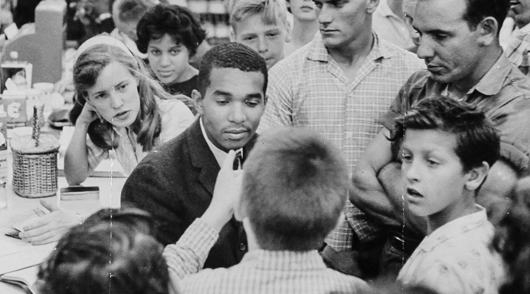 """#OTD 1962, @SouthernU_BR officials closed school after students protested. 1 of 30 arrests for #CivilRights leader Dion Diamond. """"Any time I pick up a historical publication, I feel as if a period or comma ... is my contribution."""" #MondayThoughts #History"""