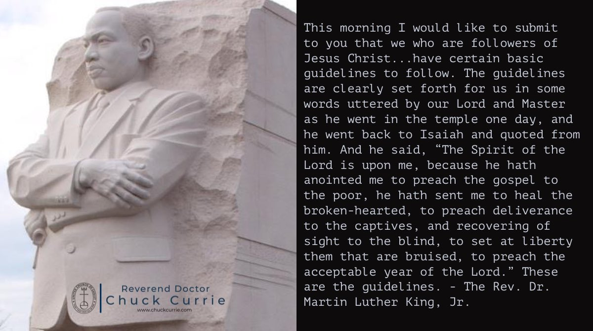Guidelines for a Constructive Church: A Sermon from The Martin Luther King, Jr. #MLKDay  #MLKDay2021  #BelovedCommunity  Full sermon:
