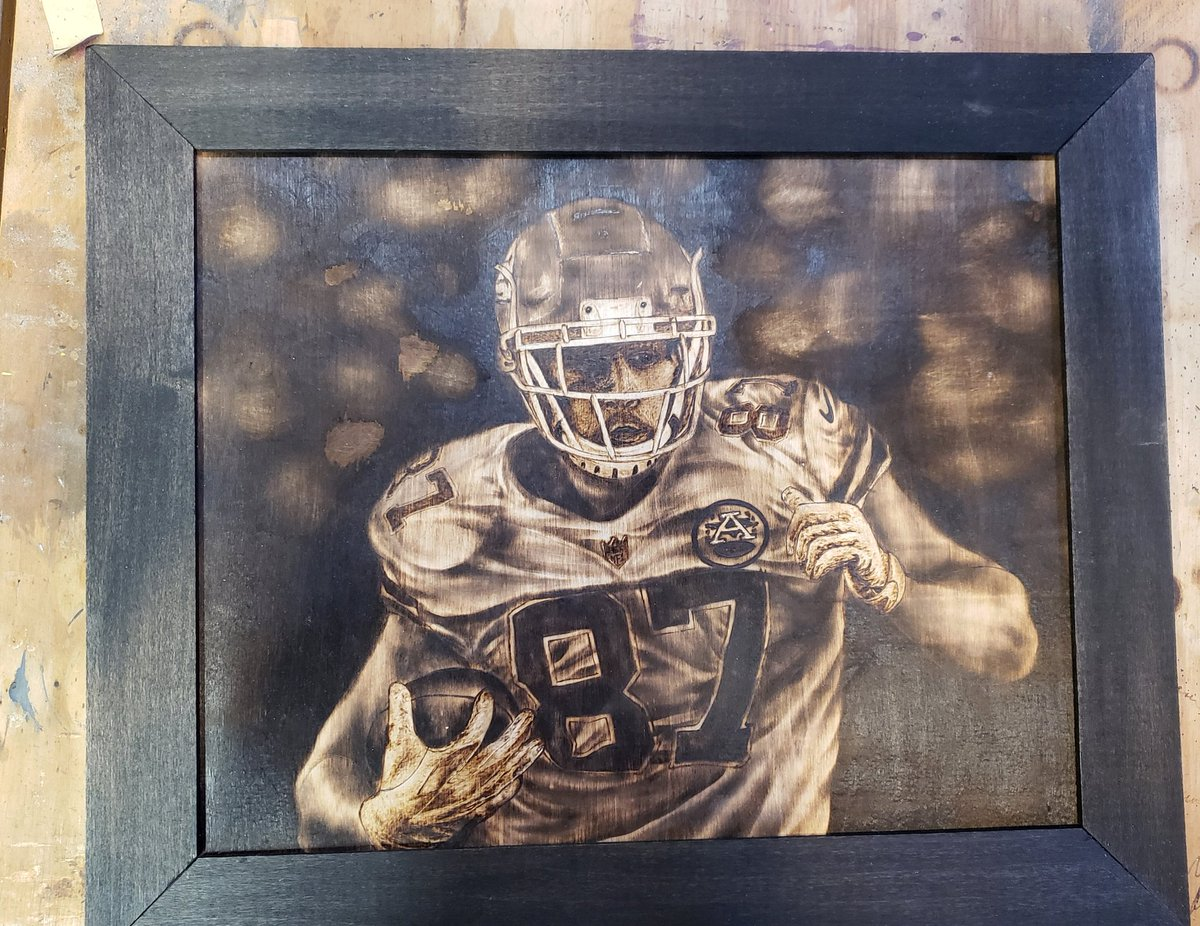 For sale $135 shipped  pp 19x23 framed #woodburning 🔥🔥🔥 #chiefskingdom  I dont make prints so this is the only one.