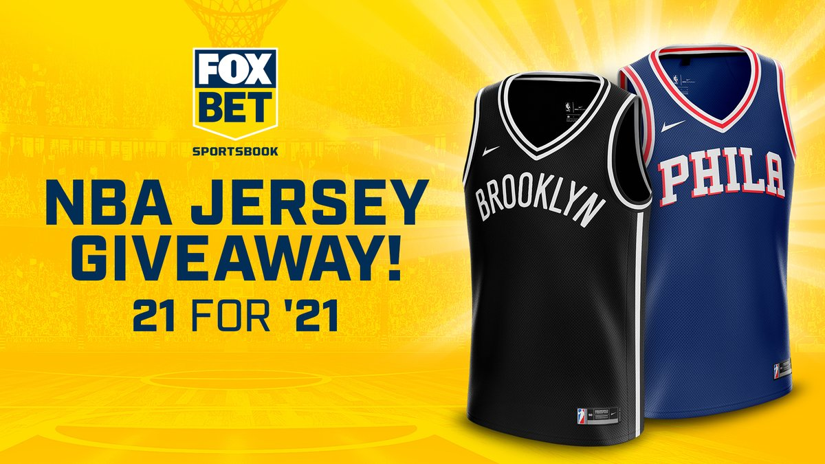 We're giving away 21 jerseys to kick off 2021! 🥳  For a chance to win: 1) Follow us 2) RT this post 3) Reply with your favorite NBA player & #entry  Official rules: