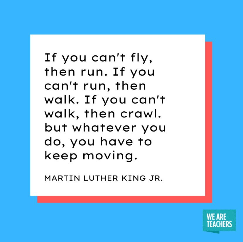 Dr. Martin Luther King Day-His words and lessons should be honored today and every day of the year. #MLKDay #gomules @MalverneUFSD