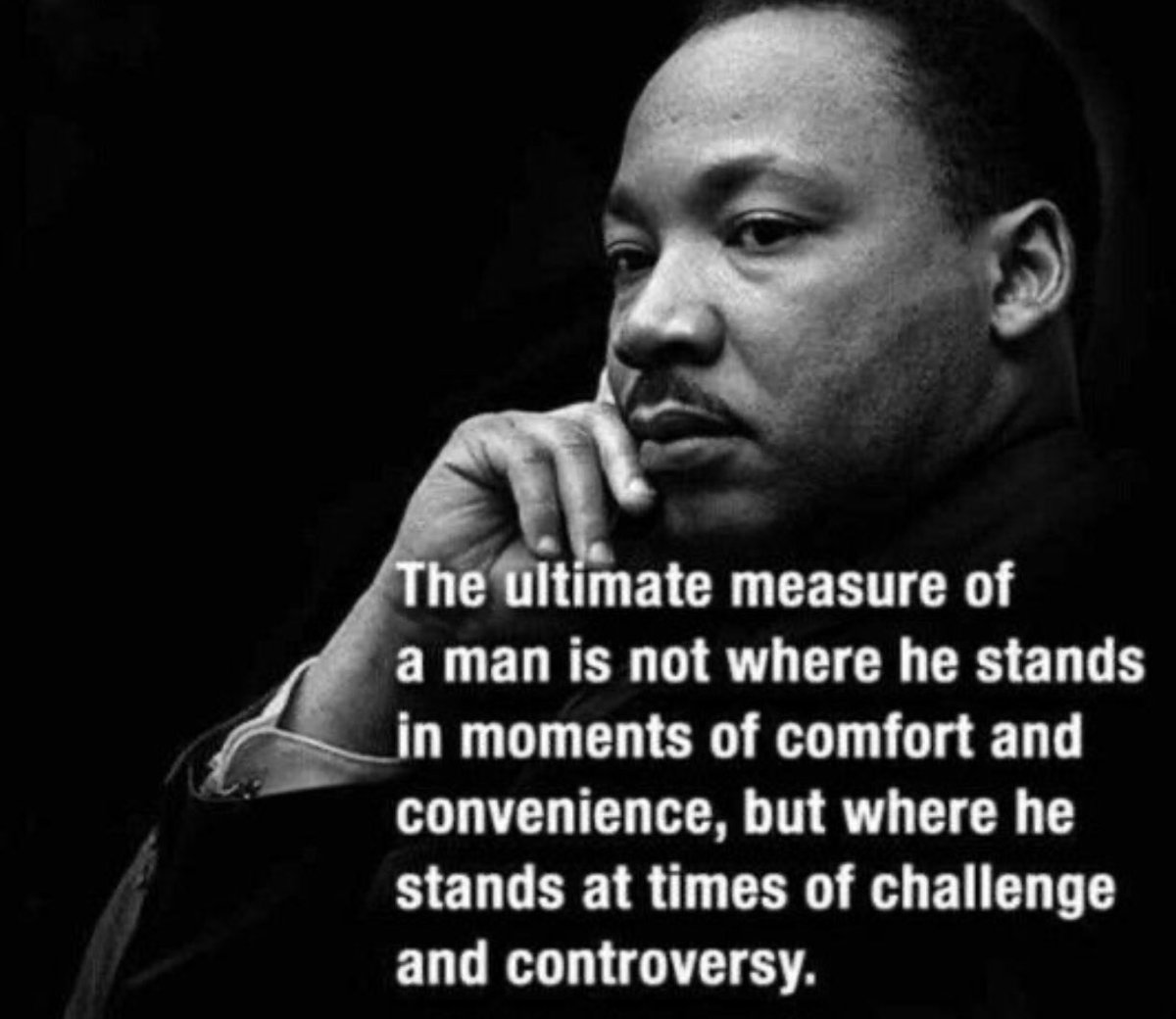 One of my favorite Martin Luther King quotes on #MLKDay
